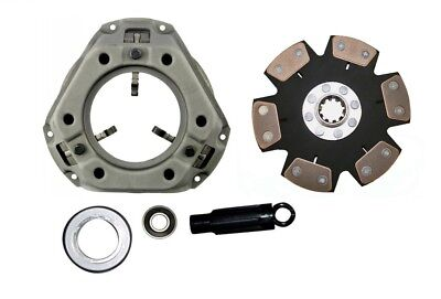 Heavy Duty 6-pad Clutch Kit Ford 961 971 981 Tractor