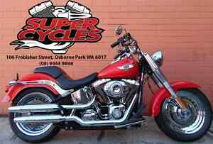 2011 HARLEY-DAVIDSON FLSTF SOFTAIL FATBOY Osborne Park Stirling Area Preview