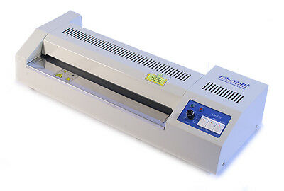 DIN A3 Laminiergerät LM-340 Metall, Laminator mit stufenloser Temperaturwahl