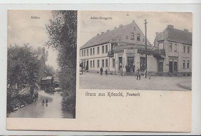 73883- Gruss aus Kriescht im Kreis Oststernberg Neumark um 1910