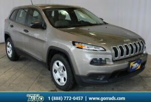 2016 Jeep Cherokee 4x4|ONE OWNER NO REPORTED ACCIDENTS|BACKUP CA