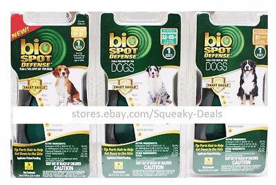 - BIO SPOT DEFENSE Smart Shield Drops FLEA & TICKS for Dogs