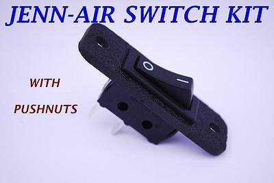 12001130 Jenn-air Replacement 2 Wire Fan Switch Jenn Air Jennair