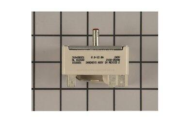 316436001 range stove element burner switch