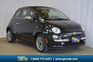 2013 Fiat 500C LOUNGE/LEATHER/HEATED SEATS/CONVERTIBLE