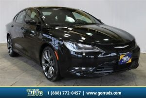 2016 Chrysler 200 3.6 S AWD/LEATHER/CAMERA/HEATED AND COOLED SEA