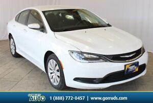 2016 Chrysler 200 LX|Auto|Air Conditioning