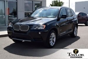 2014 BMW X3 XDrive28i Pure Luxury with X-Drive AWD Safety !!