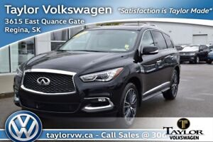 2017 Infiniti QX60 AWD Like New Local Trade with Only 5,409 KMs