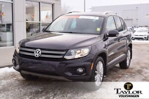 2016 Volkswagen Tiguan Highline 2.0T 6sp at w/ Tip 4M January Se
