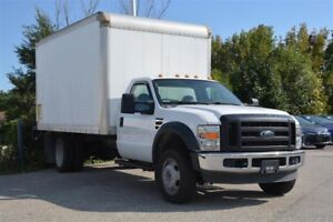 2009 Ford F-450 SD/6.4L/LOW, LOW KMS/Cube Truck