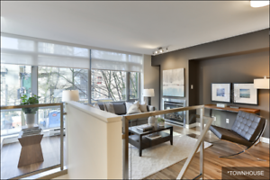 Bayview at Coal Harbour - Two Bedroom Townhouse Apartment for...