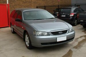 2005 Ford Falcon BA MkII XT Silver 4 Speed Auto Seq Sportshift Wagon Hoppers Crossing Wyndham Area Preview