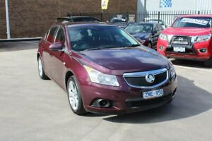 2012 Holden Cruze JH MY12 Equipe Maroon 6 Speed Automatic Sedan Hoppers Crossing Wyndham Area Preview