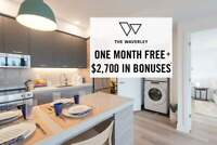 The Waverley - One Month Free + $2,700 In Welcome Bonuses*...