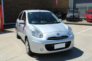 2014 Nissan Micra K13 MY13 ST Silver 5 Speed Manual Hatchback Hoppers Crossing Wyndham Area Preview