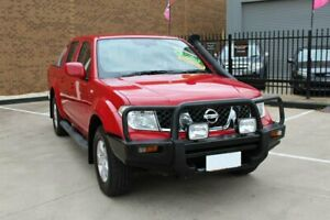 2010 Nissan Navara D40 ST (4x4) Red 6 Speed Manual Dual Cab Pick-up Hoppers Crossing Wyndham Area Preview