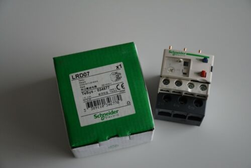 LRD07 Schneider Electric Thermal Overload Relay 1.6 - 2.5A (New In Box)