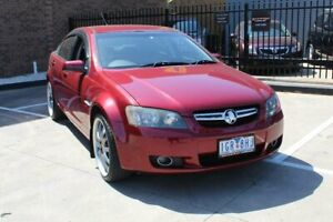 2008 Holden Berlina VE MY08 Dual Fuel Red 4 Speed Automatic Sedan Hoppers Crossing Wyndham Area Preview