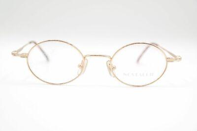 Vintage Nostalgie KT 105.088 44[]20 140 Gold oval Brille eyeglasses NOS