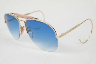 On Line 8889 customized lenses 58[]18 Gold halbrand Sonnenbrille sunglasses Neu