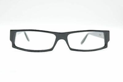 Vintage Kirk Originals J208 Black Red Oval Glasses Frames NOS
