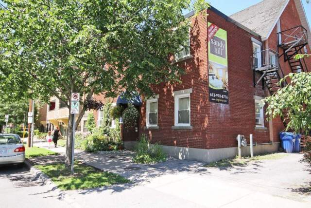 217 Laurier: Apartment for rent in Sandy Hill
