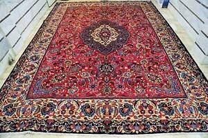 4.2x3.2m ROOM SIZE HAND WOVEN CLASSIC PERSIAN MASHAD RUG CARPET Brisbane City Brisbane North West Preview