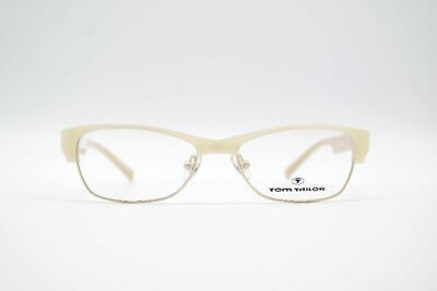 Tom Tailor 60173 51[]16 130 Beige Gold oval Brille Brillengestell Neu