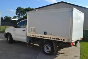 MOBILE FOOD VAN, LUNCH OR SMOKO VAN WITH ESTABLISHED RUN Burpengary Caboolture Area Preview