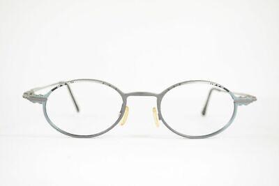 Vintage Yabi-Spirit Morgan 819  46[]18 140 Silber Grau oval Brille NOS