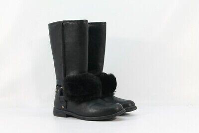 UGG Kids Lili Girl's Black Toddler/Little Kid/Big Kid Boots 13M (ZAP3523)