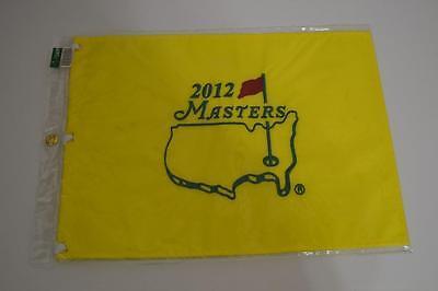 2012 MASTERS AUGUSTA NATIONAL BUBBA WATSON GOLF PIN FLAG NEW PINGFLAG