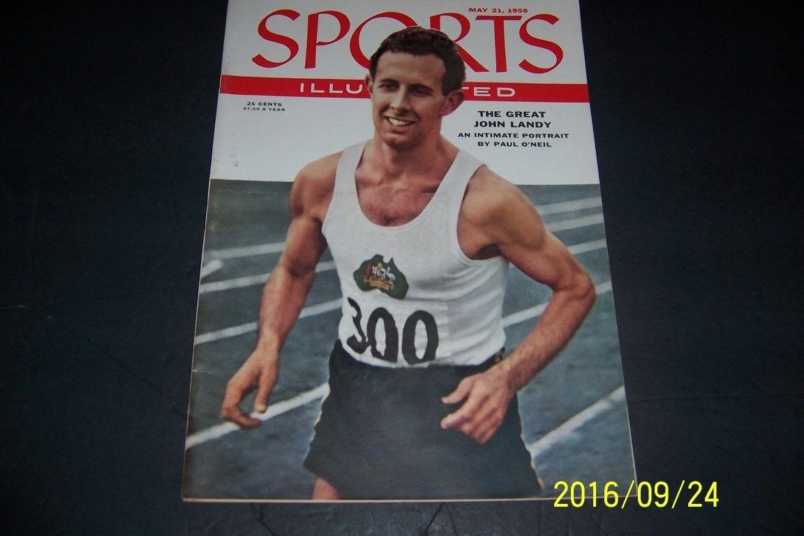 May 21 1956 John Landy Track and Field SPORTS ILLUSTRATED