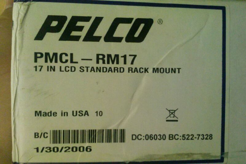"""Pelco - PMCL-RM17 - Rack Mount, For 17"""" Monitor"""