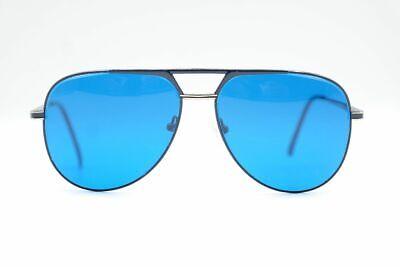 Vintage AO Selten Blau Gold Aviator Sonnenbrille sunglasses Brille