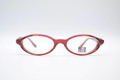 Face a Face Solis 51 17 142 Red Oval Sunglasses Frame Eyeglasses (Solis Sunglasses)