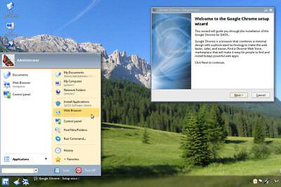 Q4OS 2.7 Scorpion LTS Linux - 32 bit - Windows XP replacement Live/Install CD (Os Windows 7 Cd)