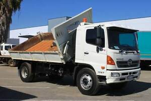2010 Hino GH 3 Way Tipper, Stock 697 Beckenham Gosnells Area Preview