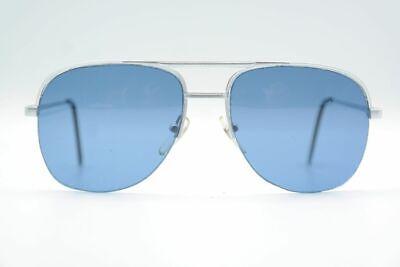 Vintage On Line 9536 Silber halbrand Sonnenbrille sunglasses Brille NOS