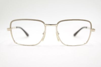 L` Amy Kirk 52 20 140 Silver Oval Glasses Frames Eyeglasses New