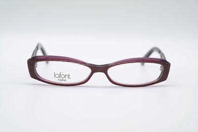 Lafont Olga 745 52 13 140 Brown Grey Oval Glasses Frames (Olga Glasses)