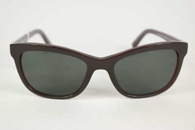 Vintage Eschenbach Oceanblue 50[]20 Braun oval Sonnenbrille sunglasses NOS