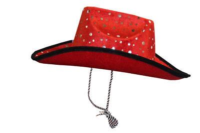 Kinder Damen Cowboyhut Weihnachtsmütze Weihnachten Scherzartikel Weihnachtsfeier