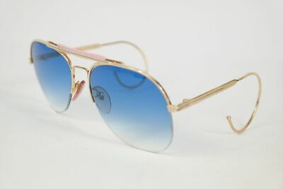 On Line 8889 customized lenses 58[]18 Gold halbrand Sonnenbrille sunglasses (Ladies Sunglasses Online)