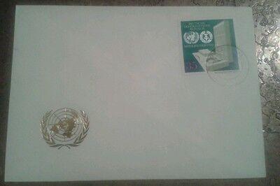 """Ersttagsbrief DDR """" DDR-Mitglied der UNO"""" 1978"""