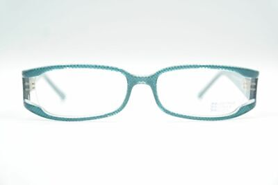 George Gina and Lucy Seethrough Blau oval Brille Brillengestell eyeglasses (See Through Eyeglasses)