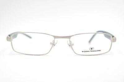 Tom Tailor Mod. 60158 49[]16 125 grau-türkis rechteckig Brille eyeglasses Neu