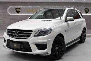 2015 Mercedes-Benz ML63 AMG BI-TURBO Wetherill Park Fairfield Area Preview