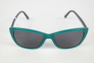 Vintage Eschenbach Oceanblue 51[]18 Türkis oval Sonnenbrille sunglasses NOS